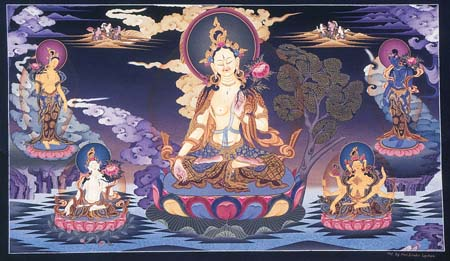 White Tara The Female Buddha Of Long Life